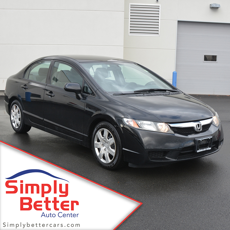 Pre-Owned 2009 Honda Civic Sedan LX